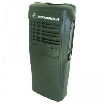 "Motorola GP340 Housing requires adhesive label motif ""Motorola"""