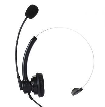 Telikou NE-11 Lightweight headset with XLR4F