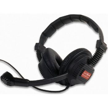 Altair Double Sided Headset with XLR4F for Tecpro style beltpack