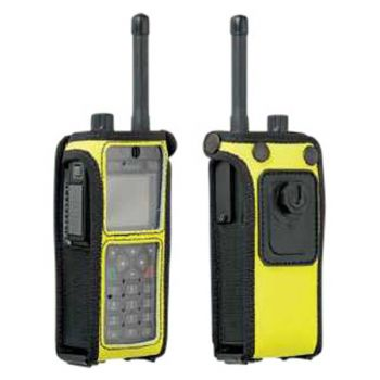 Sepura STP8000 Yellow High Visibility Case Klick Fast Stud (top loading radio)