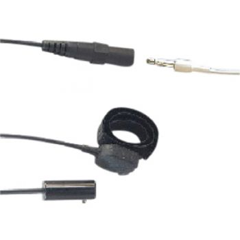 TC4 Kenwood 2 pin Kevlar 3 wire Covert surveillance headset 3.5mm socket
