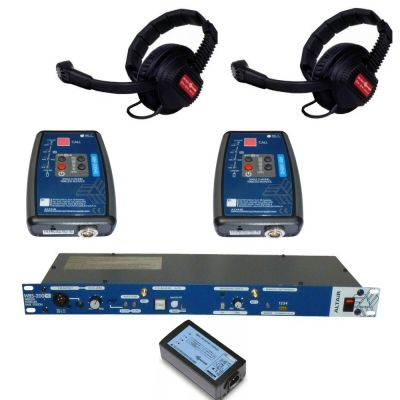 Altair HD Digital Wireless Intercom with 2 wireless duplex beltpacks - ALT-2WAY-KIT - Showcomms