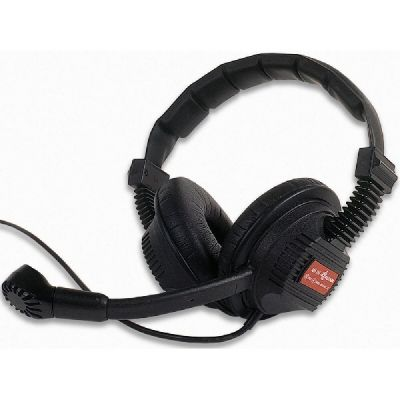 Tecpro and Altair Double Sided Headset with XLR4F - ALT-BP-HS-DS - Showcomms