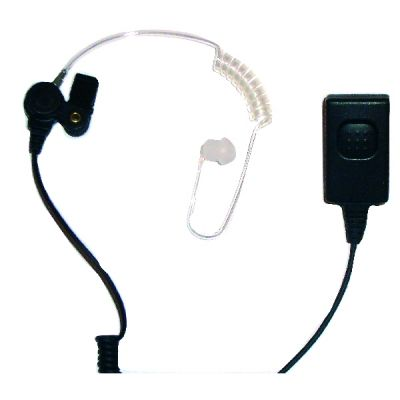 Motorola Tetra curly tube earpiece MTH800 MTP850 CEP400 - CENTURION-F - Showcomms