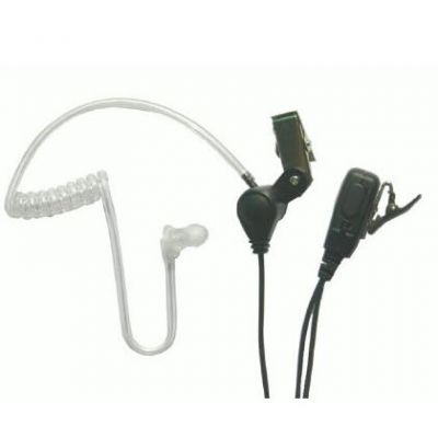1 wire Acoustic tube Earpiece with mic for UltraPAK - EARTEC-SST - Showcomms