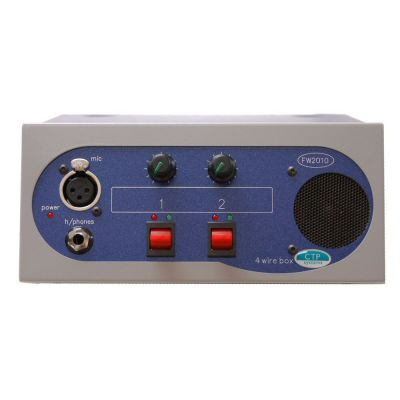 FW2010 Four Wire box with 2 inputs 2 outputs and 2 IFBs - FW2010 - Showcomms