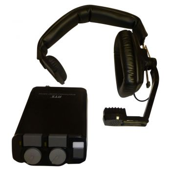 Telex RTS Beltpack and Beyer Headset in Black