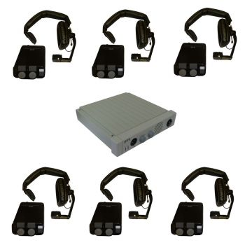 Telex RTS Communication Starter Intercom System 6 Way