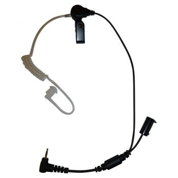 Purser headset for Lanyard worn Vocera Communication Badge