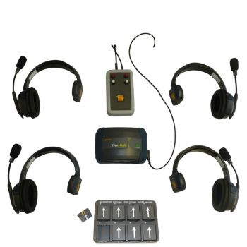Eartec UltraLITE Theatre Intercom Wireless Comms 4 Users & Tecpro Interface