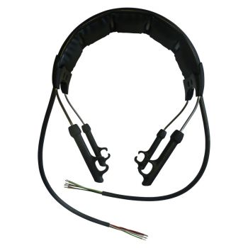 Peltor headband for Litecom Light and Peltor Alert models (6 core unterminated)