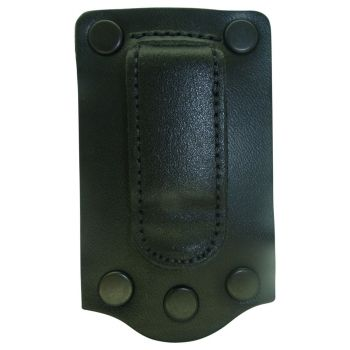 DOCK05BC Klick Fast dock on leather with Belt Clip