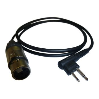 AD913 Walkie Talkie Adapter Lead with Motorola 2 pin connection
