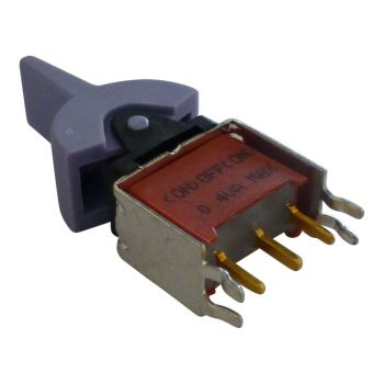Telex KP-32 panel Toggle Switch 1A Purple