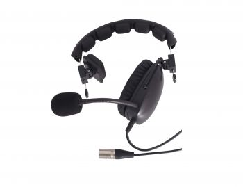 Telikou HD101 single sided headset with dynamic mic