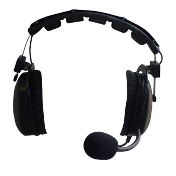 Telikou HD102 double sided headset with dynamic mic