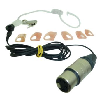 IFB Earpiece lead kit for intercom with XLR4F (listen only)