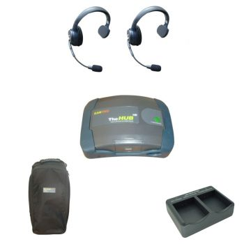 Eartec UltraLITE HD Theatre Intercom Wireless Comms 2 Users
