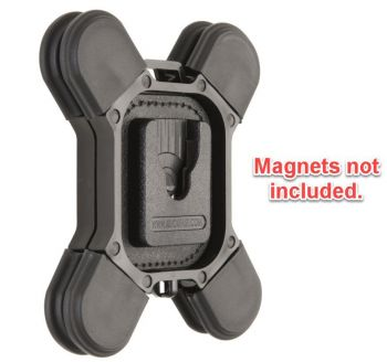 Klickfast Magnetic Garment Mount.  No stitching or screw fastening required. (Metric Version)