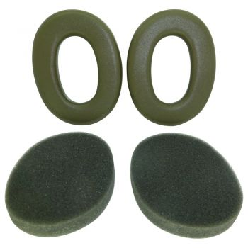 HY67 Ear foams for Peltor Sound Trap (Olive Green)