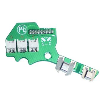 Peltor K163AV01C SportTac PCB with Battery Contacts (Item available to order only)