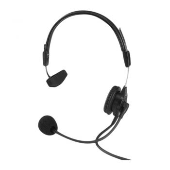 Telex PH88 Lightweight single sided headset with XLR4M