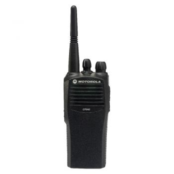 Motorola CP040 16 channel UHF walkie talkie radio
