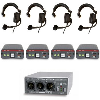 Wired Theatre and College Intercom Starter Communication System 2