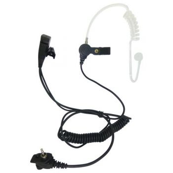 BG MTH800 Tetra 1 wire acoustic tube earpiece and PTT with secured connector