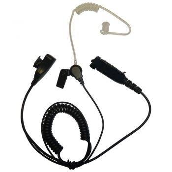 BG SC20 STP8000 STP9000 series 1 wire Earpiece and PTT mic with Kevlar cables