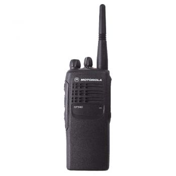 Motorola GP340 UHF 16 channel walkie talkie radio