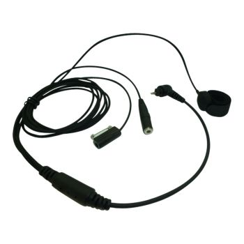 TC4 Motorola SL1600 SL4000 SL7550 3 wire Covert headset