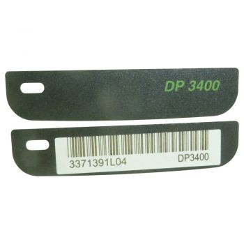 Motorola DP3400 Front label name plate