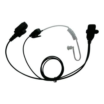 100 x BG THR9 1 wire earpiece and microphone