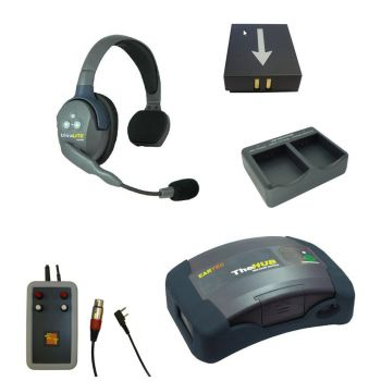 1 Wireless Headset kit for interfacing with Tecpro wired comms