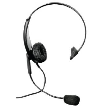 GP300 CP040 Single sided lightweight headset with Motorola 2 pin radio connector