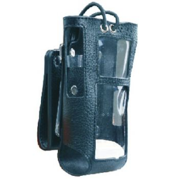 Hytera PT580 Leather Swivel Carry Case for Thick battery