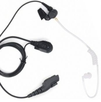 EAN16 Acoustic tube Earpiece with PTT mic