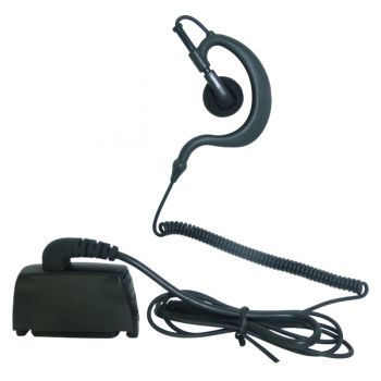 Lowe ear hanger D Hook listen lead for THR880i Police radio