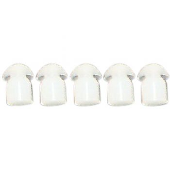Spare eartips for earpieces - pack of 5