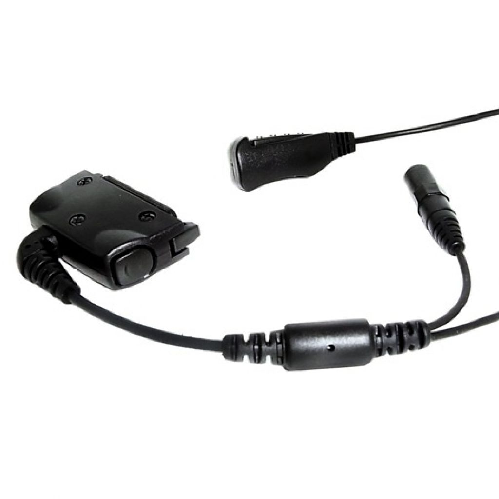 CPO THR880i Tetra Police Covert headset with 3.5mm listen socket