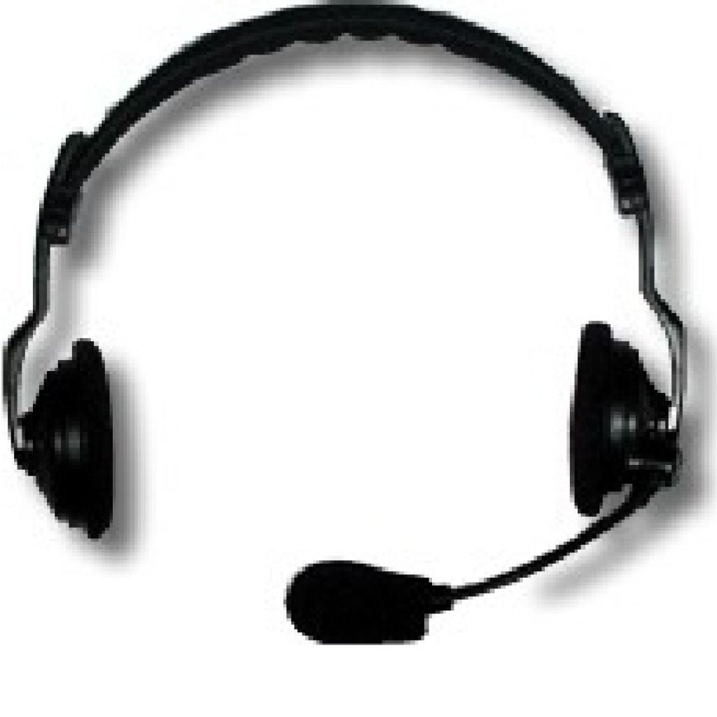 ASL HS2D Double sided headset - XLR4F