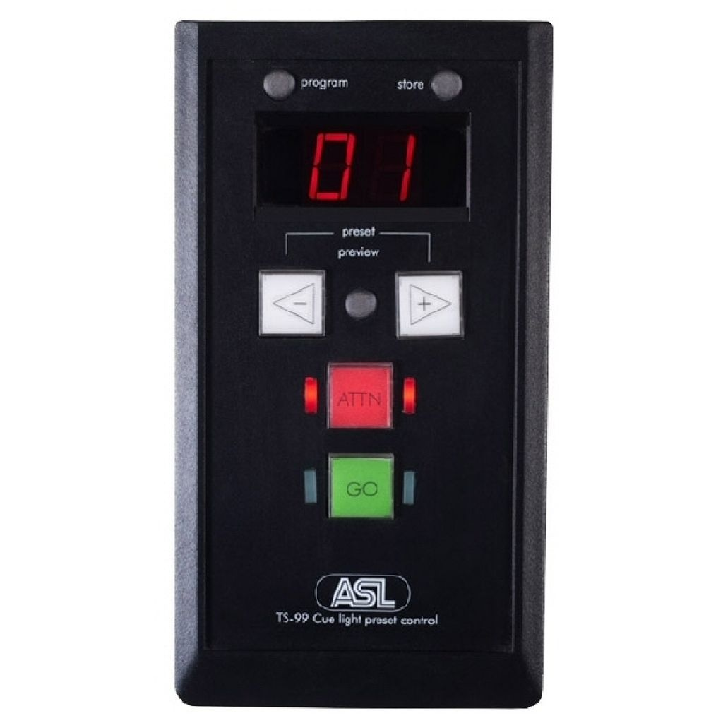 ASL Cue Light Preset Control Box TS99