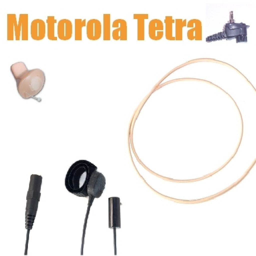 TC4 Motorola MTH800 MTP850 ICM40 beige Wireless Earpiece kit