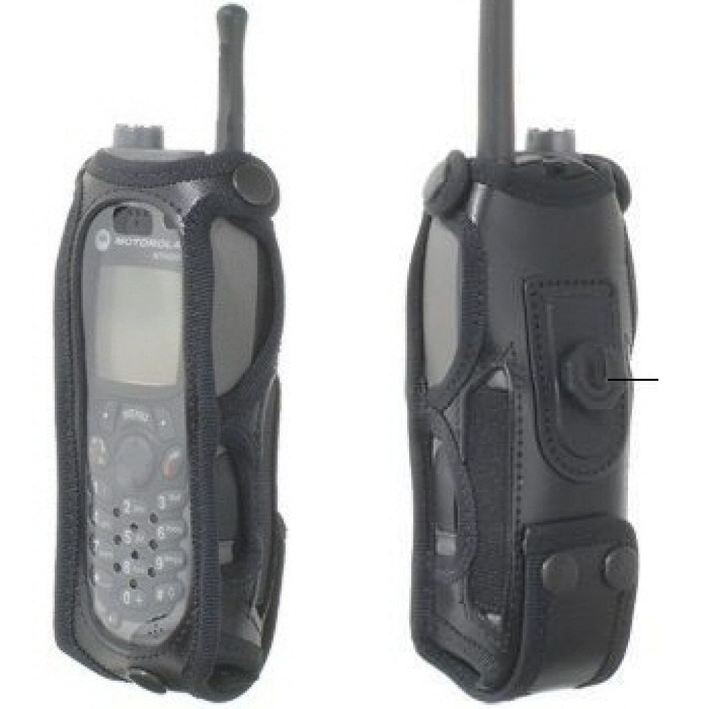 Motorola MTH800 Klick Fast radio cover case with docking stud