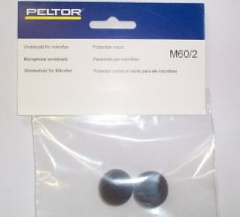 Peltor M60-2 Microphone foam windsock (pair)