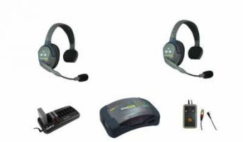Eartec Comstar Theatre Intercom Wireless Comms 2 Users & Tecpro Interface