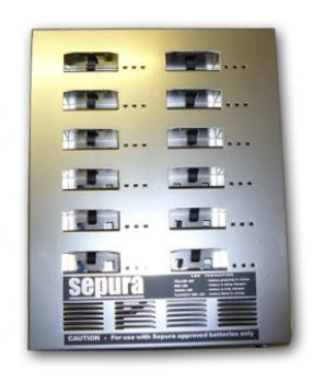 Sepura 12 way battery charger