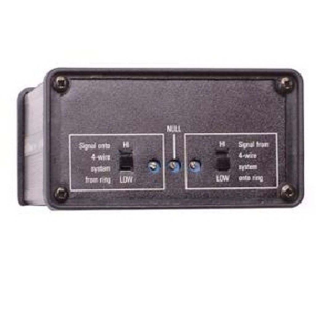 Canford AD903 2 wire to 4 wire convertor interface to Duplex Communications