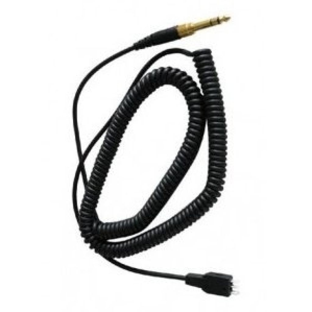 Beyerdynamic DT100 Coiled cable 1.5m. long with 3.5mm and 6.35mm adapter jack